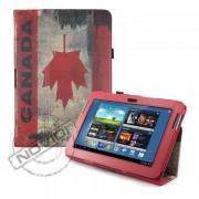 Capa para Tablet Bandeira do Canadá Samsung Galaxy Note 10.1 N8000 / N8100