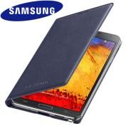 Capa flip Wallet para Samsung Galaxy Note 3 N9005 -  Samsung EF-WN900B - Cor Grafite