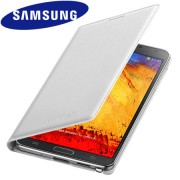 Capa flip Wallet para Samsung Galaxy Note 3 N9005 - Samsung EF-WN900B - Cor Branca