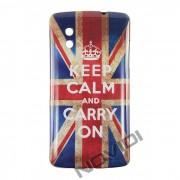 Capa Personalizada Keep Calm UK para LG Nexus 5 E980