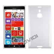 Kit Capa de TPU Premium + Película Pro Fosca para Nokia Lumia 1520 - Cor Transparente