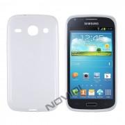 Kit Capa de TPU Premium + Película Transparente para Samsung Galaxy S3 Duos I8262 - Cor Transparente