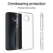 Capa Anti Impacto TPU + Pelicula de Vidro 3D para Motorola Moto G6 Transparente