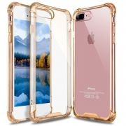 Capa Fusion Shell Anti-Impacto Premium para iPhone 7 4.7- Gold Translucida