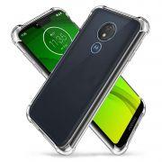 Capa Fusion Shell + Película de vidro 3D Motorola Moto G7 Power - Preta