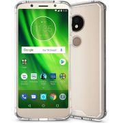Capa Fusion Shell + Pelicula Vidro 3D para Motorola Moto G6 Play