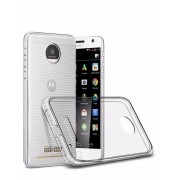 Capa TPU Transparente + Película de Silicone/Gel para Motorola Moto Z2 Play Xt1710