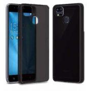 Kit Capa TPU Grafite e 2 Película Silicone/Gel Blindada para Asus Zenfone 3 Zoom Ze553KL