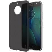 Kit Capa TPU + Película de Silicone/Gel para Motorola Moto G5S Plus - Grafite