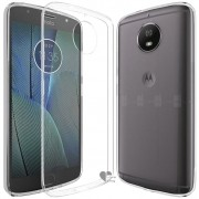 Kit Capa TPU + Película de Silicone/Gel para Motorola Moto G5S Plus - Transparente
