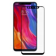 Película De Vidro Bordas 3d Xiaomi MI 8- Preta