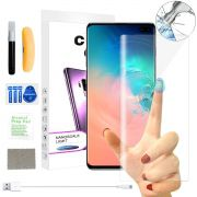 Película Vidro Cola Líquida Uv Galaxy S10 Plus