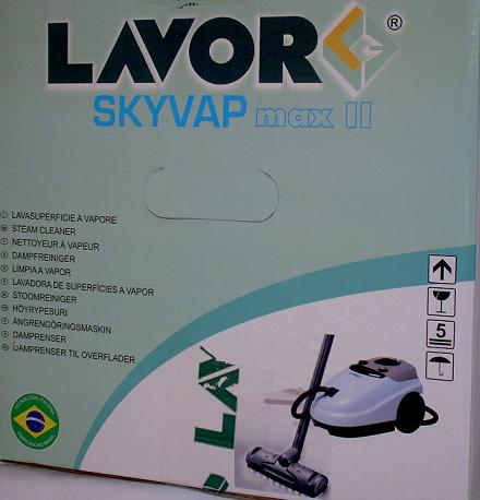SKYVAP MAX II - MAQUINA LIMPADORA A VAPOR 127V OU 220V  - Tempo de Casa