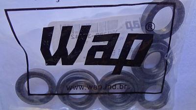 WAP LAVA-JATO TOP II - KIT VEDAÇÕES  - Tempo de Casa