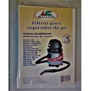 WAP ELECTROLUX -  FILTRO DE PAPEL DESCARTÁVEL ASPIRADOR KIT COM 3 SACOS CADA (20 LITROS)