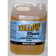 Super Desengraxante Multi-Uso Yellow Clean Galão de 5 litros Excelente Custo Beneficio Super Concent