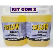 Super Desengraxante Multi-Uso Yellow Clean KIT C/2 Gal�es de 5 litros cada