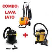Combo LAVA JATO: Extratora Home Cleaner + Aspirador A2003 + Lavadora de Alta Pressão 4100