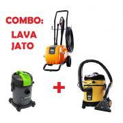 Combo LAVA JATO: Extratora Home Cleaner + Aspirador EcoClean + Lavadora de Alta Pressão 4100