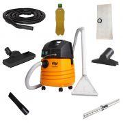 Combo: Lavadora Extratora WAP Carpet Cleaner + Conjunto de Acessórios de Aspiração