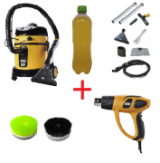 Combo: Lavadora Extratora WAP Home Cleaner + Soprador Térmico + Escovas de Nylon + Shampoo