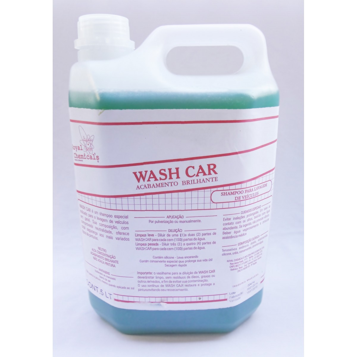 WASH CAR - 1/2 LITRO -  - USAR Super Ofertas
