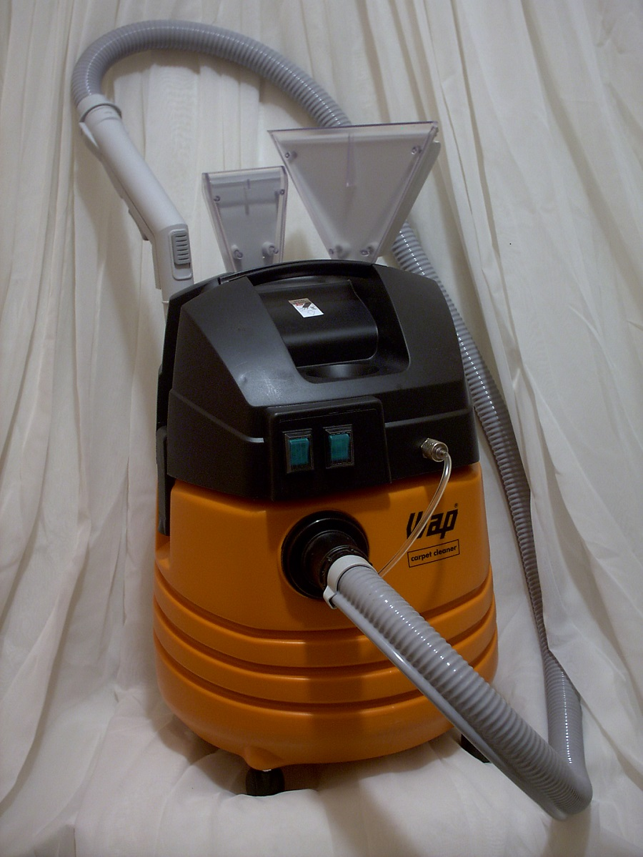 WAP CARPET CLEANER 1600W - KIT MAQUINA/SHAMPOO SUDESTE BRASIL  - Tempo de Casa