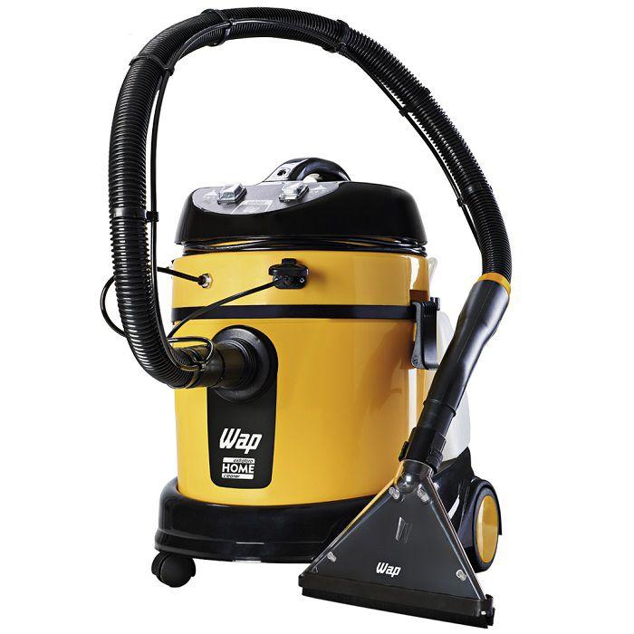 Combo: Lavadora Extratora WAP Home Cleaner + Furadeira c/ Maleta 600K + Escovas de Nylon + Shampoo  - Tempo de Casa