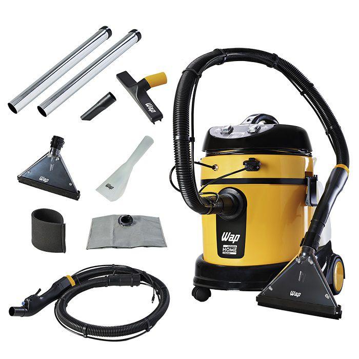 Combo: Lavadora Extratora WAP Home Cleaner + Pistola de Pintura + Escovas de Nylon + Shampoo  - Tempo de Casa