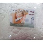 Pillow Top Restopedic Visco Coolgelpad Queen 1,58x1,98x4 cm