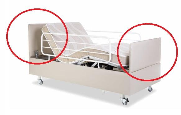 Cabeceira e Peseira Pilati Para Cama Prime Confort 0,90