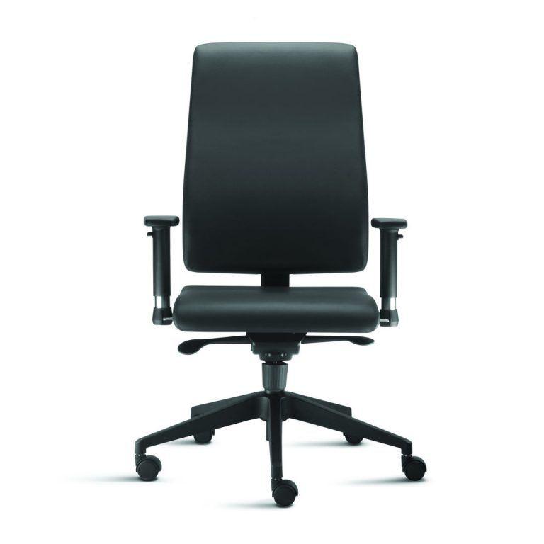 Cadeira Presidente Sephia Com Apoia Braços Reguláveis