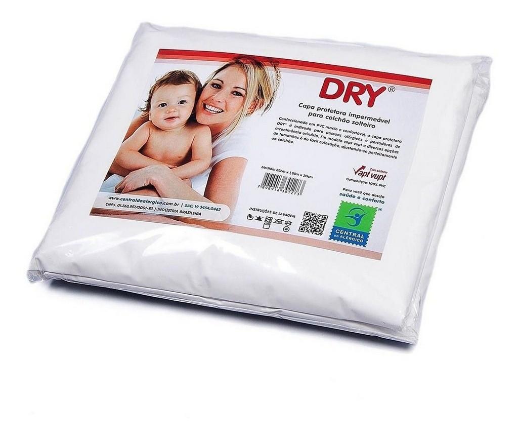 Capa Colchao Solteiro 100% Pvc 88x188x20 Dry
