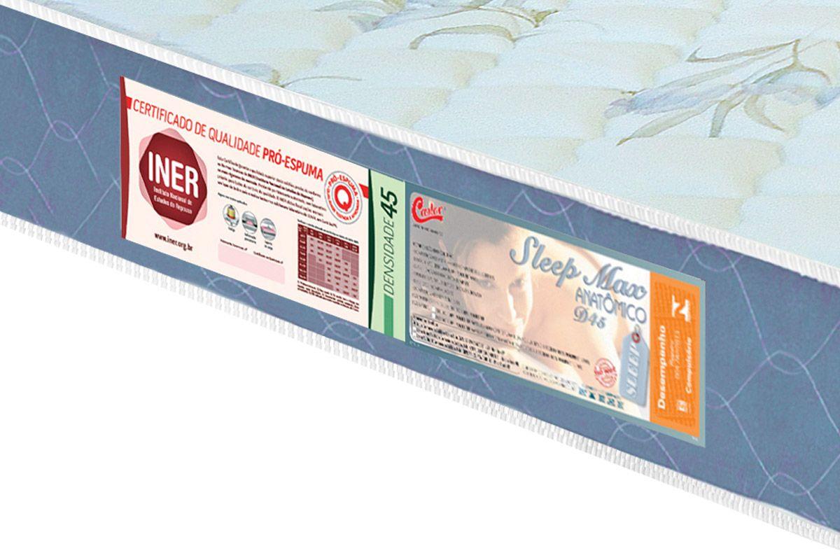 Colchão Castor de Espuma Sleep Max D-45