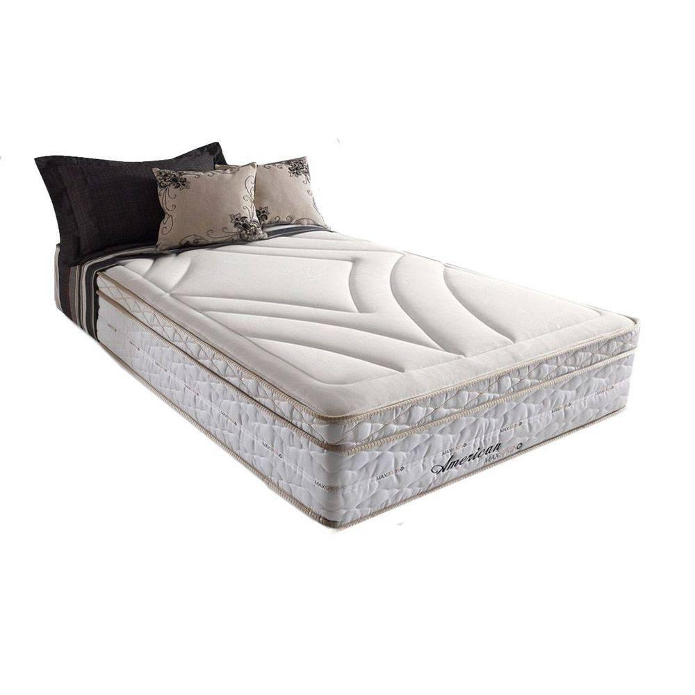 Colchão Herval de Molas Maxspring American Pillow Top 1,38x1,88x0,33 Cm