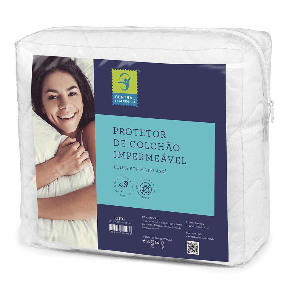 Protetor Impermeável para Colchão Central Do Alérgico