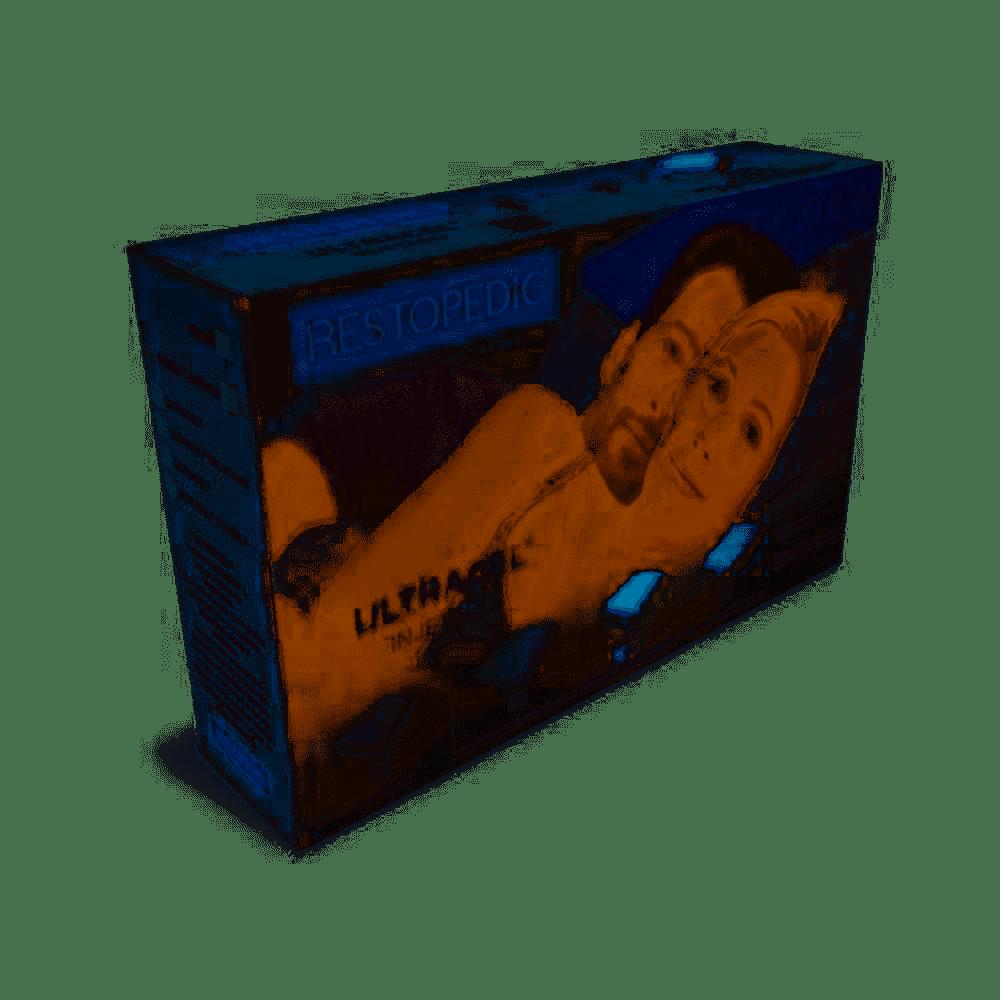 Travesseiro Restopedic Ultracel Injetado Macio Fio de Bambu 18 Cm