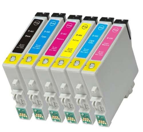 CARTUCHO TO48 R220 R-220 COMPATÍVEL KIT 6 CARTUCHOS R200 R220 R300 R330 R340 RX500 RX600