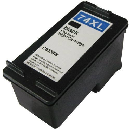 CARTUCHO 74XL 74 XL CB336WB COMPATÍVEL DESKJET D4260 C4480 C4280 J5780 PRETO 25ML