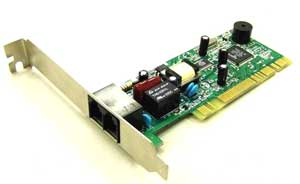 PLACA DE FAX MODEM PCI 56K V92 LUCENT