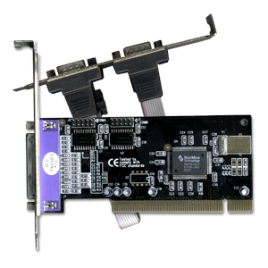 PLACA PCI C 2 PORTAS SERIAL DB9 + 1 LELA DB25 LPT