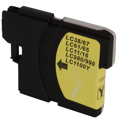 CARTUCHO LC11 LC38 LC61 LC65 LC67 LC980 LC990 LC1100 COMPATÍVEL DCP-585CW MFC-490CW 990CW YE 13ML