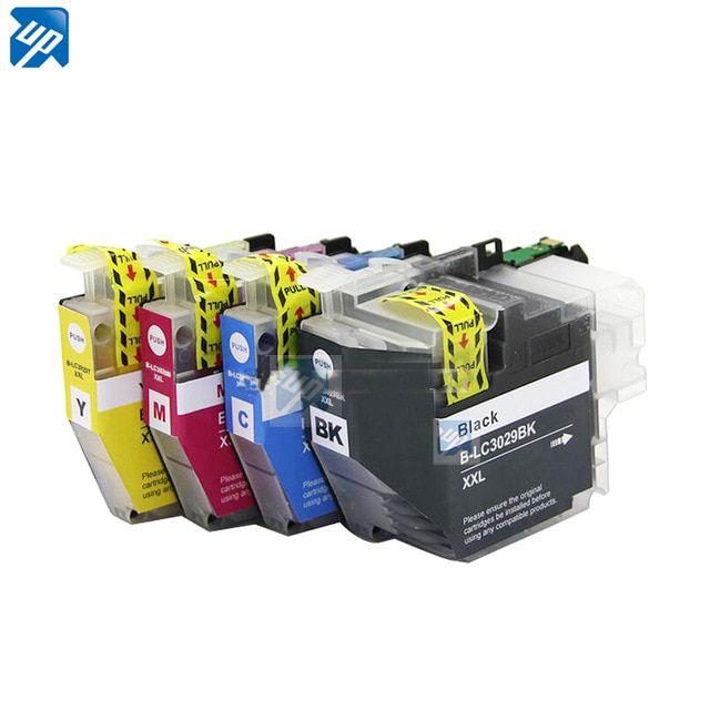 Kit 4 Cartuchos LC3029 LC3029XL Compatível Para BrotherMFC-J5830DW/MFC-J5830DW XL/MFC-J5930DW/MFC-J6535DW/MFC-J6535