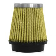 Filtro de Ar Esportivo Rs Air Filter Cônico 62mm Amarelo