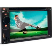 Dvd Player Multimídia Dazz DZ-52201BT Tela 6.2 Cd Usb Touch Screen Bluetooth
