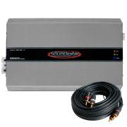 Modulo Amplificador Soundigital Evolution Sd8000.1D 8000w Rms 1 Canal 2 Ohms