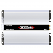 Módulo Amplificador Soundigital Evolution SD1200.4D 1200W Rms 2 Ohms
