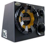 Caixa de Som Trio Spyder Amplificada 175W Rms com Fiação Completa