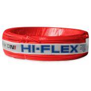 Fio Flexível para Instalação Automotiva Dni Hi-Flex 0,75 mm 100 Metros Vermelho