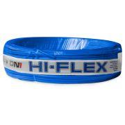 Fio Flexível para Instalação Automotiva Dni Hi-Flex 1,00 mm 100 Metros Azul
